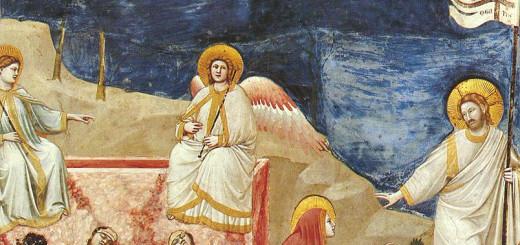 Giotto_-_Scrovegni_-_-37-_-_Resurrection_(Noli_me_tangere)