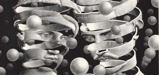 Maurits-Cornelis-Escher-Vincolo-dunione-1956-litografia