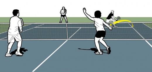 Amart tennis-Doubles Volley